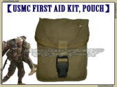 USMC FIRST AID KIT POUCH/ファーストエイドキットポーチ 『中古良品』