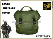 EAGLE MILITARY STYLE BUTT PACK/ミリタリースタイルブットパック(OD) 『極上品』